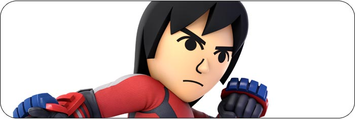 Mii Brawler Super Smash Bros. Ultimate artwork