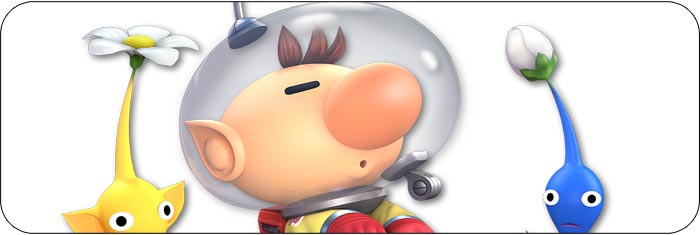 Olimar Super Smash Bros. Ultimate artwork