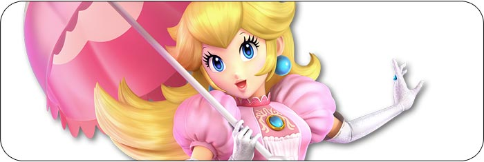 Peach / Daisy Super Smash Bros. Ultimate artwork