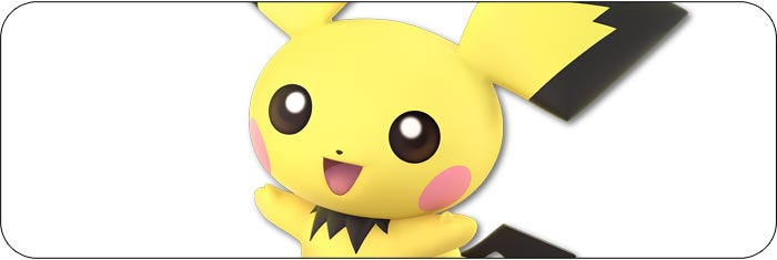 Pichu Super Smash Bros. Ultimate artwork