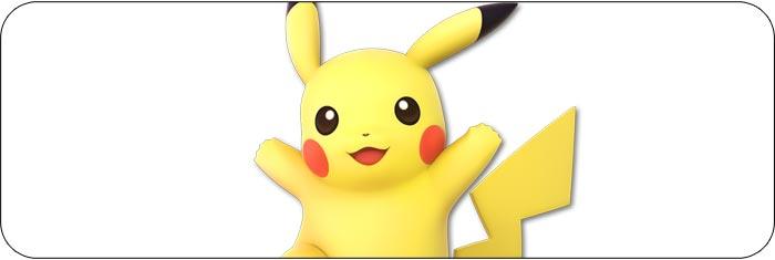 Pikachu Super Smash Bros. Ultimate artwork