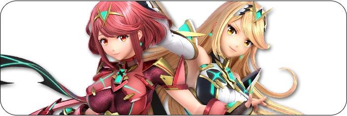 Pyra / Mythra Super Smash Bros. Ultimate artwork