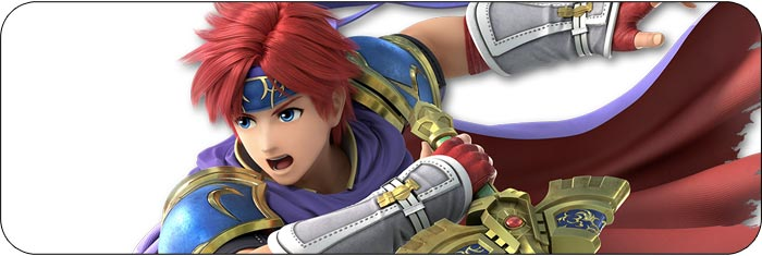 Roy Super Smash Bros. Ultimate artwork