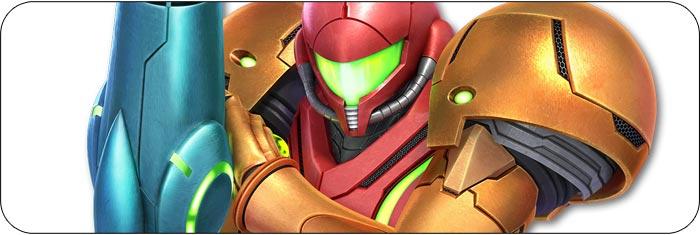 Samus / Dark Samus Super Smash Bros. Ultimate artwork