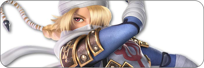 Sheik Super Smash Bros. Ultimate artwork