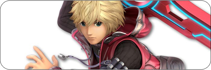 Shulk Super Smash Bros. Ultimate artwork