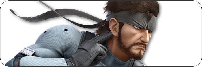 Snake Super Smash Bros. Ultimate artwork