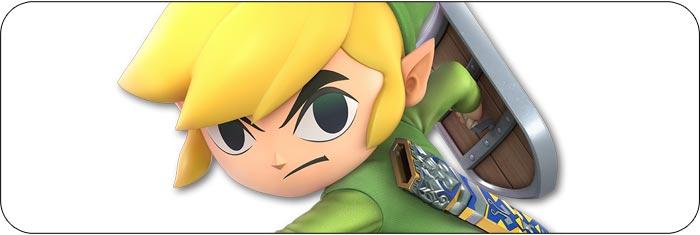 Toon Link Super Smash Bros. Ultimate artwork