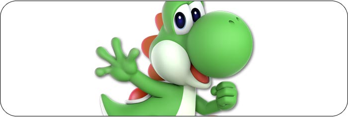 Yoshi Super Smash Bros. Ultimate artwork