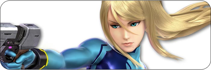 Zero Suit Samus Super Smash Bros. Ultimate artwork
