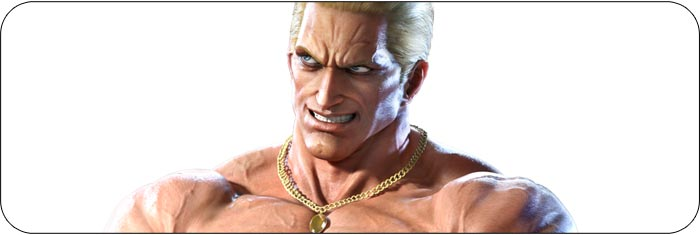 Geese Howard Tekken 7 artwork