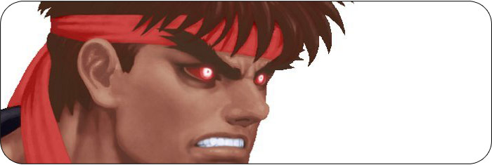 Evil Ryu Ultra Street Fighter 2 artwork