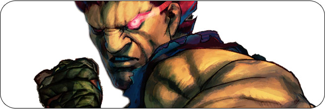 Akuma Ultra Street Fighter 4 Omega Edition artwork