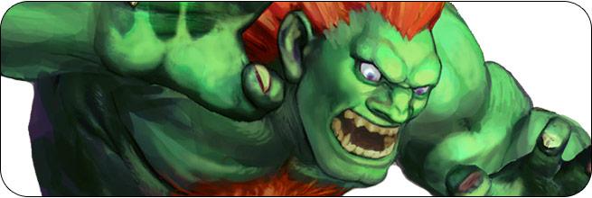 Blanka Ultra Street Fighter 4 Omega Edition artwork