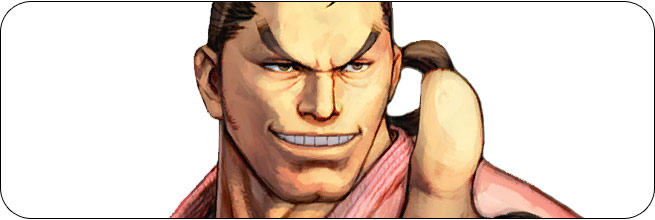 Dan Ultra Street Fighter 4 Omega Edition artwork