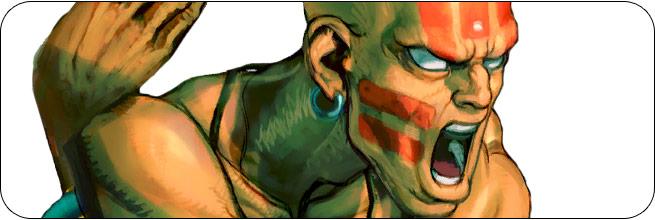 Dhalsim Ultra Street Fighter 4 Omega Edition artwork