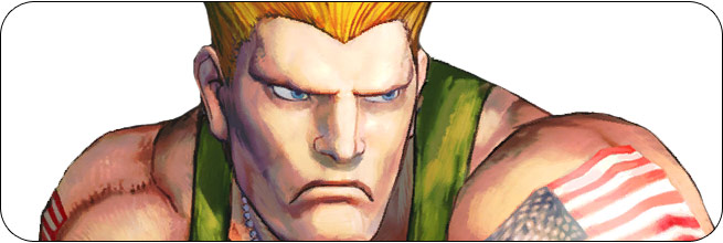 Guile Ultra Street Fighter 4 Omega Edition artwork