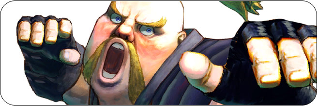Rufus Ultra Street Fighter 4 Omega Edition artwork